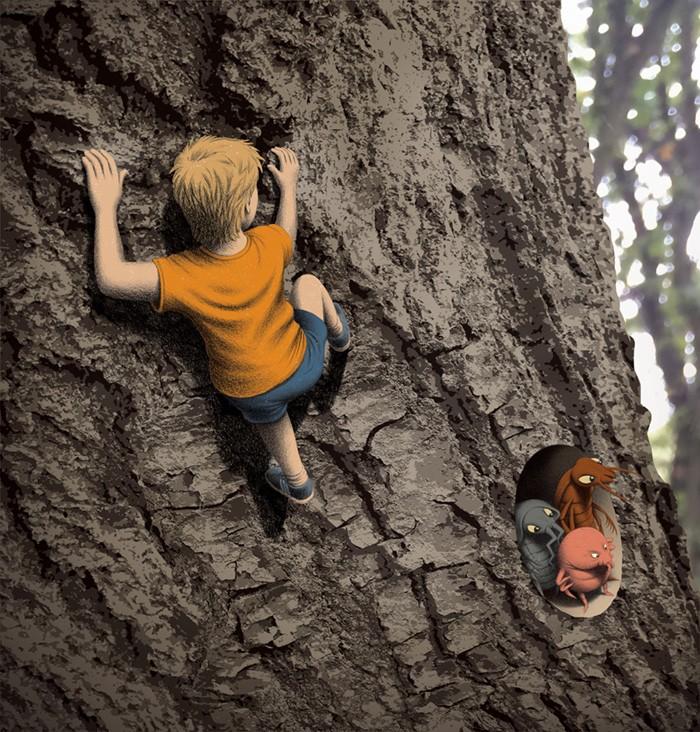 Tree climb colour